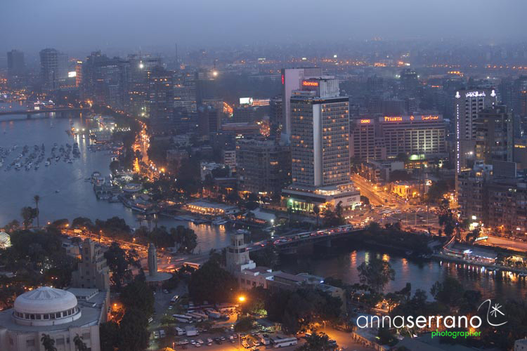 Africa, Middle East, Egypt, Cairo, al-Qahira, Cairo Tower, Nile river