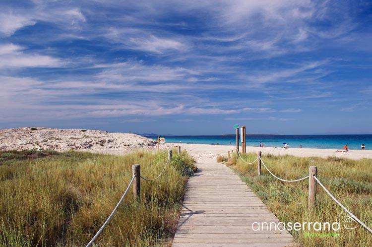 Llevant Beach - Formentera - Balearic island - Mediterranean - Spain