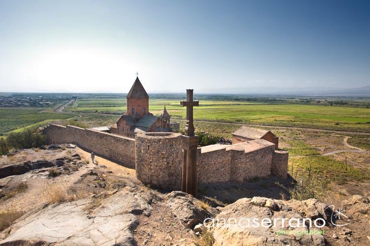 Armenia, Southern Armenia, Khor Virap Monastery