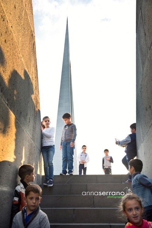 Armenia, Yerevan, Armenian Genocide Memorial