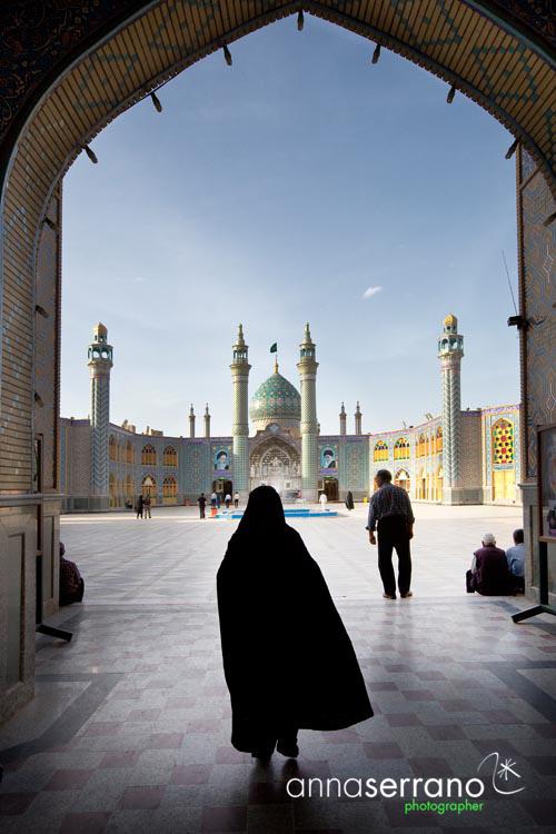 Iran, Isfahan Province, Kashan, Bidgol Imamzadeh Hilal Ibn Ali shrine