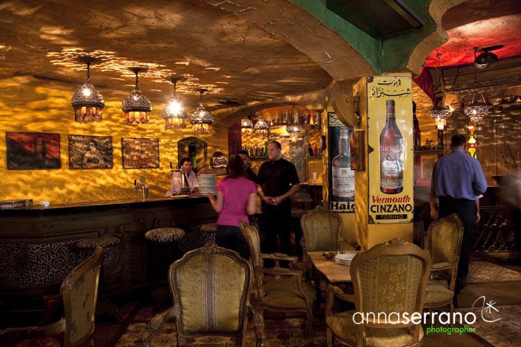 Africa, Middle East, Egypt, Cairo, al-Qahira, Abu el Sid restaurant