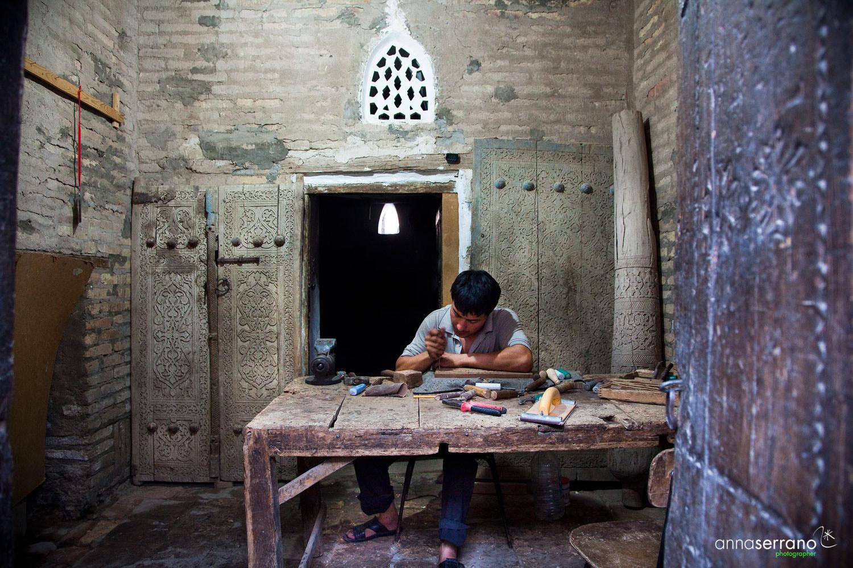Asia, Uzbekistan, Khiva, Artcrafts