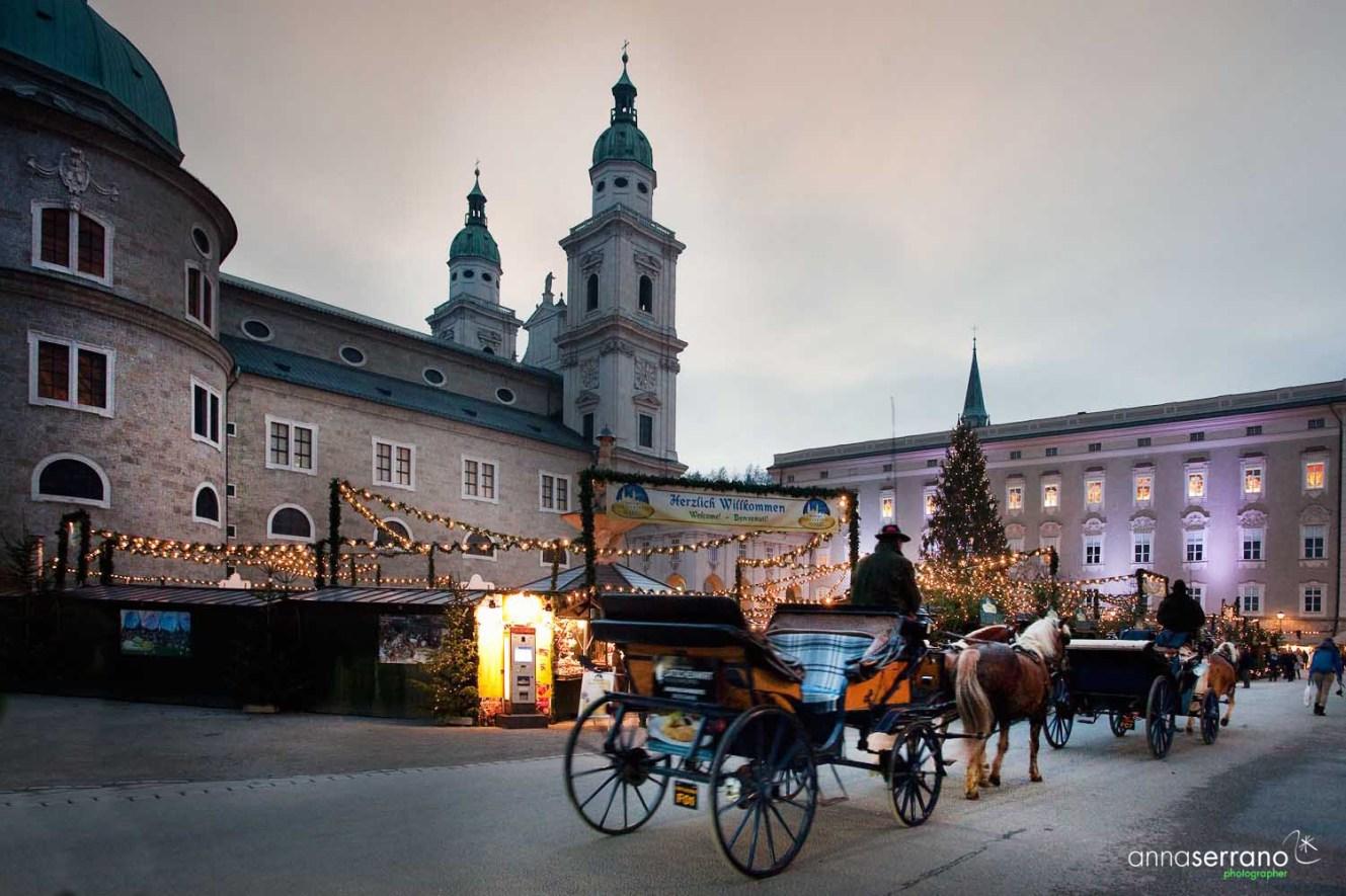 Austria, Salzburg, Christmas