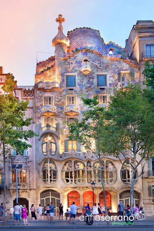 Spain, Catalonia, Barcelona, Casa Batllo