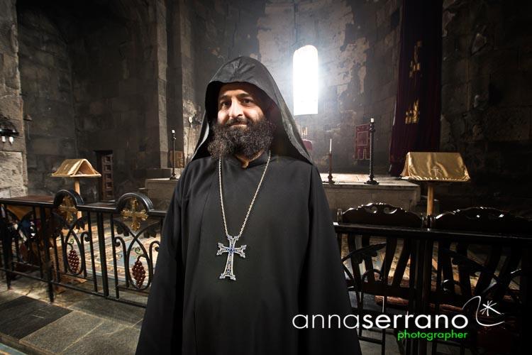 Armenia, Monastery of Tatev over the Valley of Vorotan river
