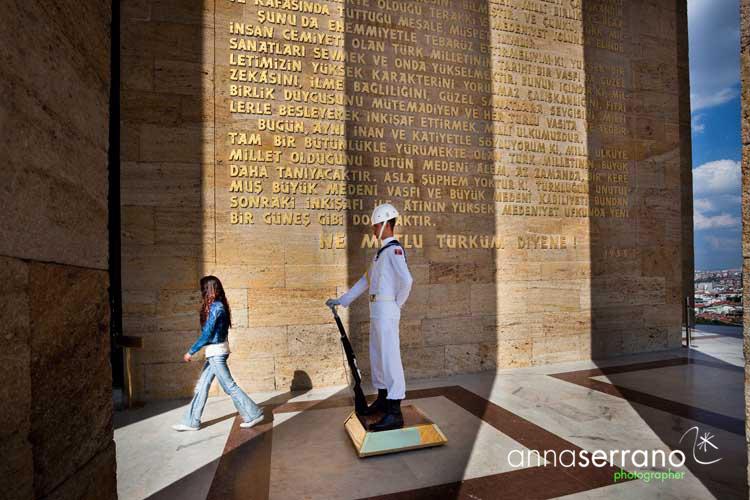 Turkey, Ankara, Anitkabir, Ataturk's Mausoleum