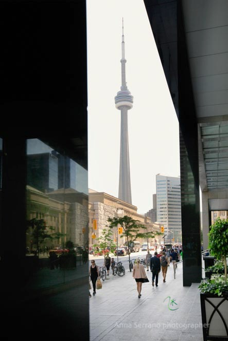 Toronto, Central Station and CN Tower