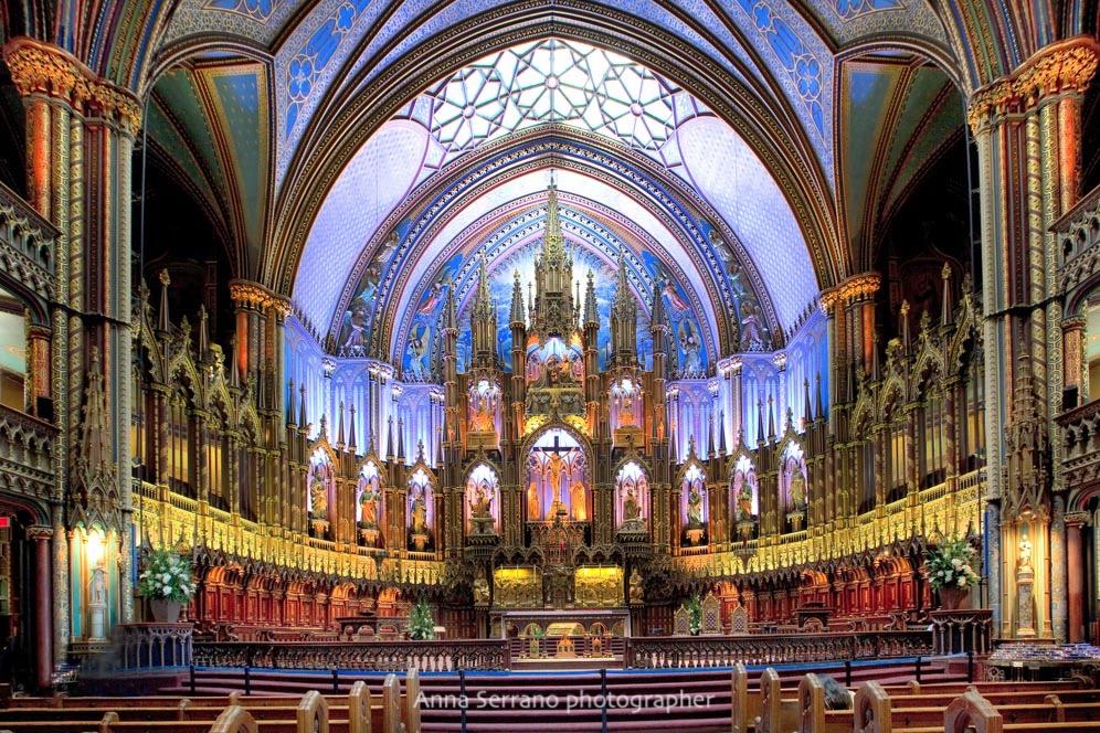 Montreal, Basilica of Nôtre Dame