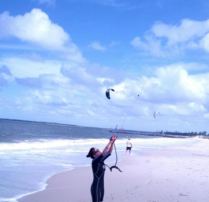 thingstodoinsydney-kitesurfing