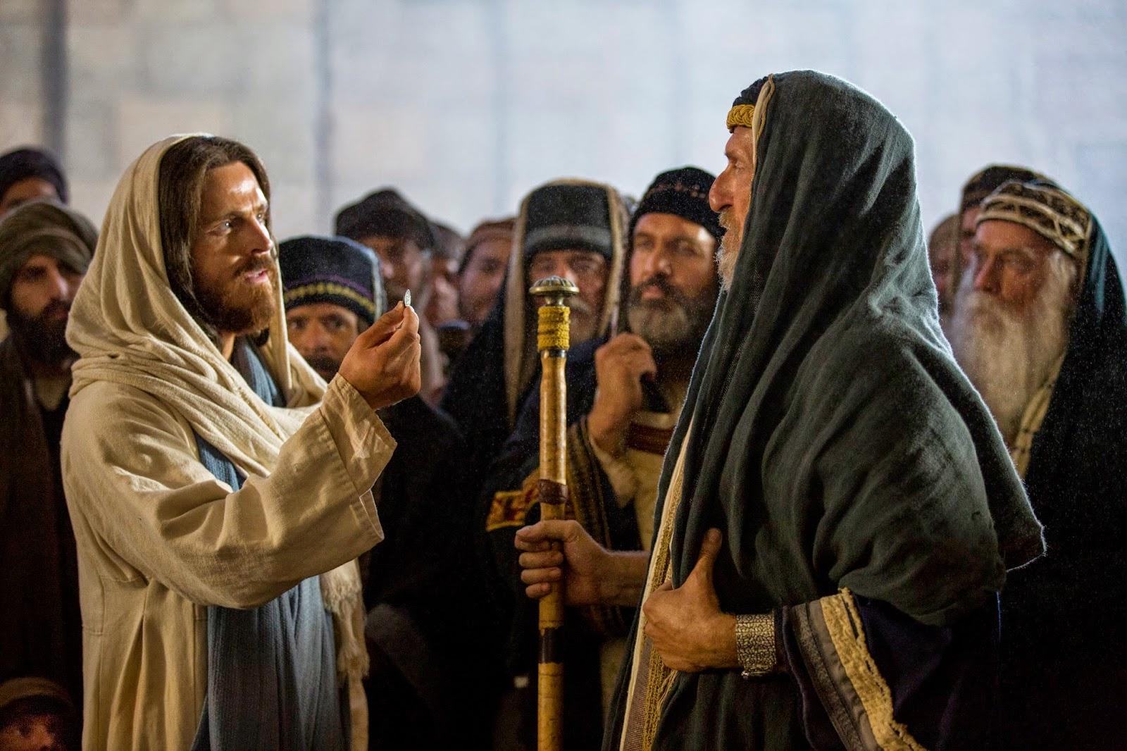 يسوع بين الهيكل والصليب