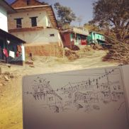 Nepal-sketches-anna-sircova - 5