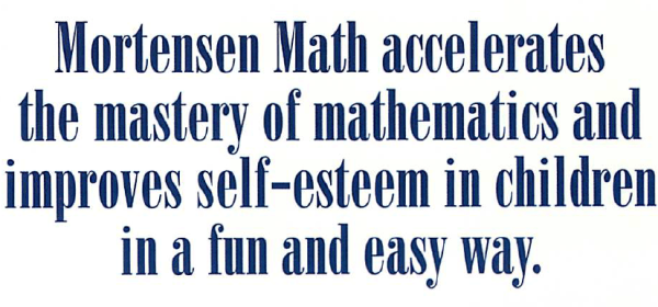 Mortensen Math base ten blocks