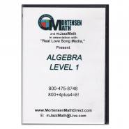 Mortensen Math Algebra Level 1 DVD