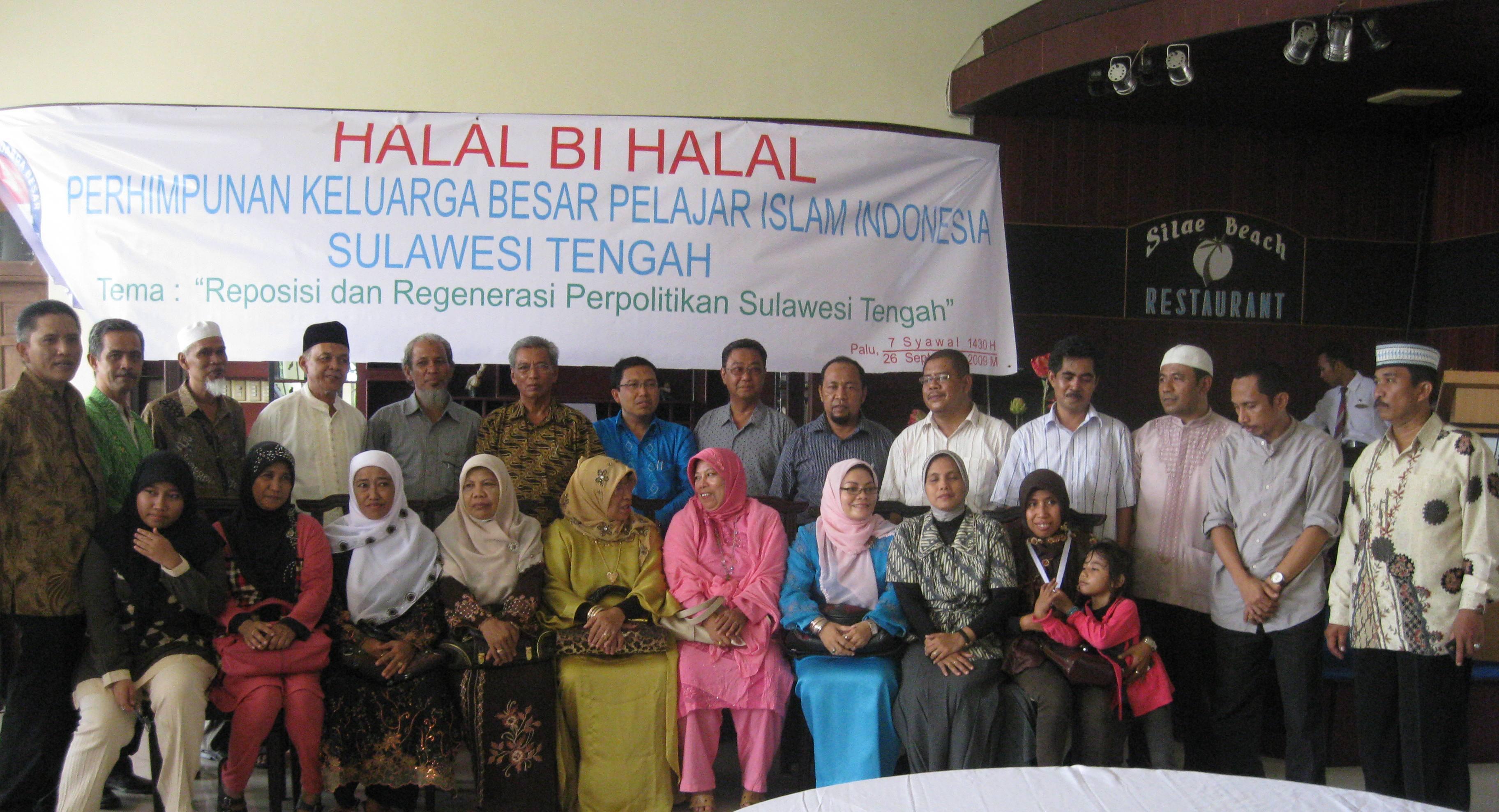 Keluarga Besar Perhimpunan PII Sul-Teng