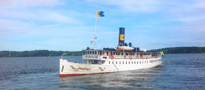 Skärgårdsbåten Storskär.