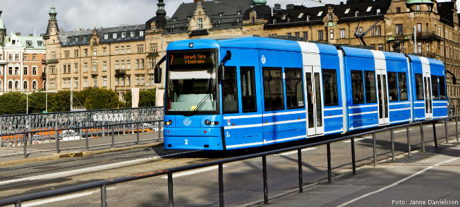Spårväg city. Foto: Janne Danielsson