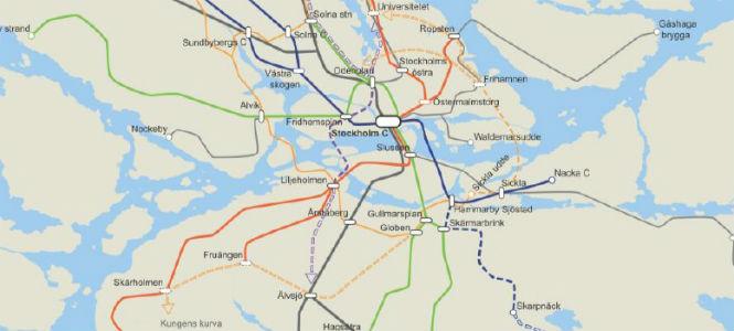 Stockholm behöver mer spårtrafik