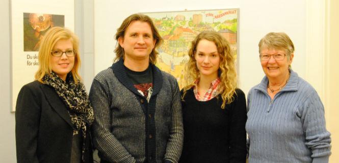 Anna Starbrink, Martin Björklind, Anna Fladvad och Gunilla Thorsson