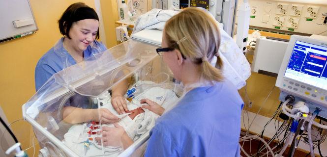 Fler neonatalspecialister med ny utbildning