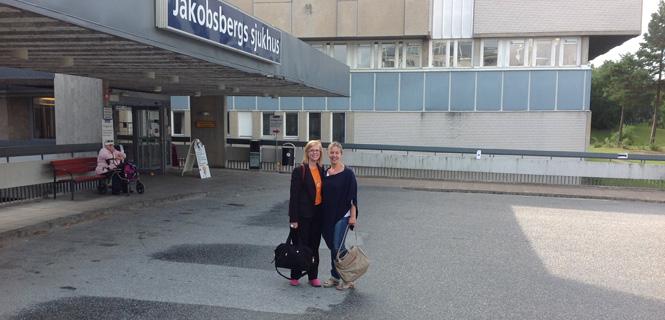 Studiebesök i Järfälla