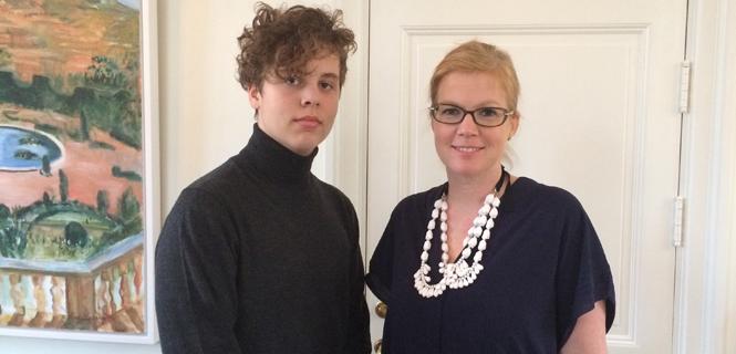 Markus Jenkinson och Anna Starbrink