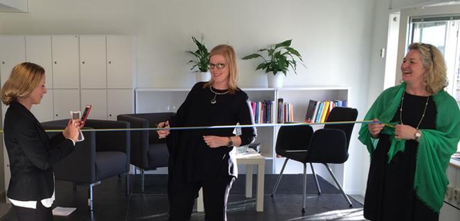 Anna Starbrink inviger mottagning för smärt- och stressbehandling