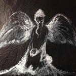Anna Stark 731 Engel und Teufel im Spiegelbild