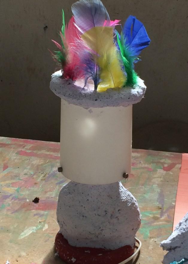 מנורה עיסת נייר-18