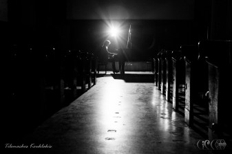 CIRCE The Black Cut 2015 ~ Live Music Concert by Anna Stereopoulou @ IRIS Cinema Theatre [Dec21, 2015] ~ solo piano encore | image taken by Tilemachos Kouklakis©