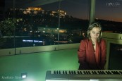 CIRCE The Black Cut 2015 ~ Winter Solstice celebration event ~ Music, AV Message of Peace by Anna Stereopoulou, under the Acropolis [Athens, GR] @ Location: AthenStyle roof-top [Dec22, 2015] | Live Digital Boradcast by Hellenic Spirit Organization | image taken by Tilemachos Kouklakis©