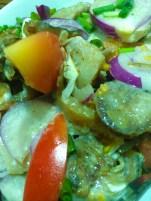 Warek Warek (Dinacdacan-meat salad)