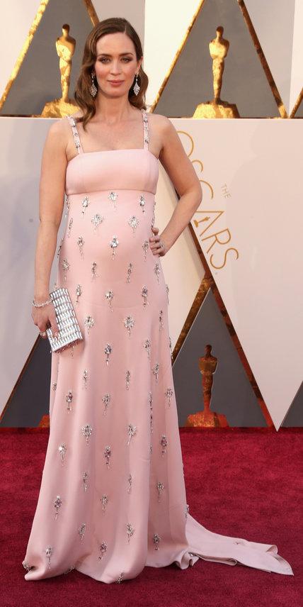 Emily Blunt, abito Prada