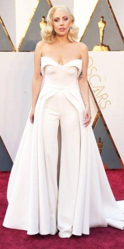 Lady Gaga, abito Brandon Maxwell