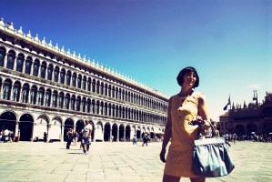 Anna in Piazza San Marco, Venezia
