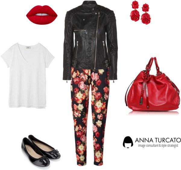 The floral pants di annaturcato contenente summer totes