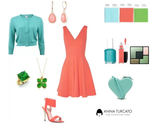 Spring Summer Girl by annaturcato featuring a blue top