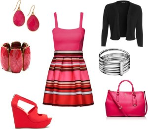 anna turcato red and pink