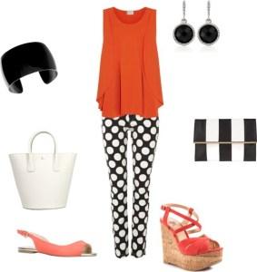 Summer look di annaturcato contenente coral heeled sandals