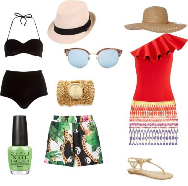 summer look di annaturcato contenente swimsuits bikinis