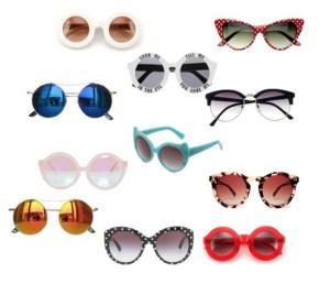 sunglasses di annaturcato contenente round glasses