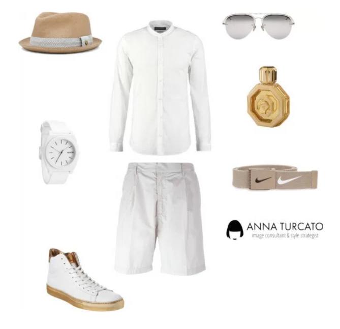 White look for men di annaturcato contenente Stefano Ricci