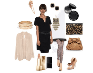 Nude lady by annaturcato featuring a silk dress