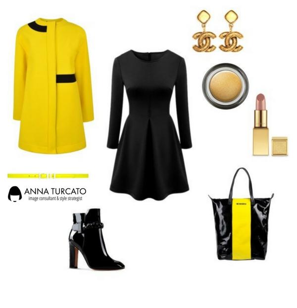 look-anna-turcato-nero-giallo