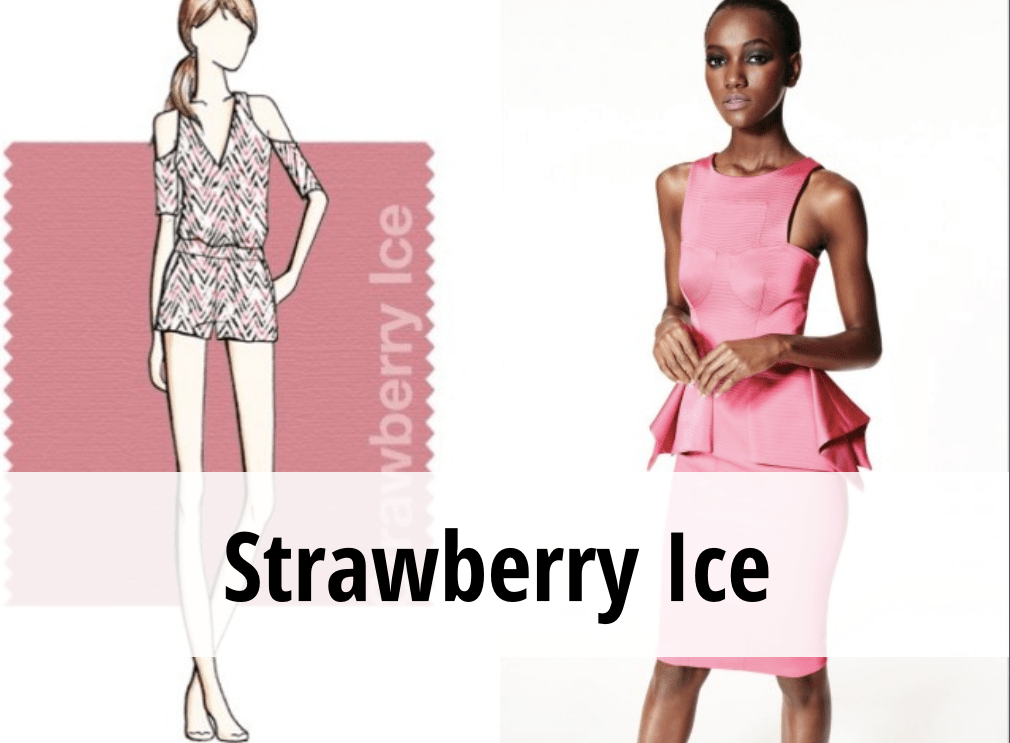 Strawberry Ice colori tendenza primavera