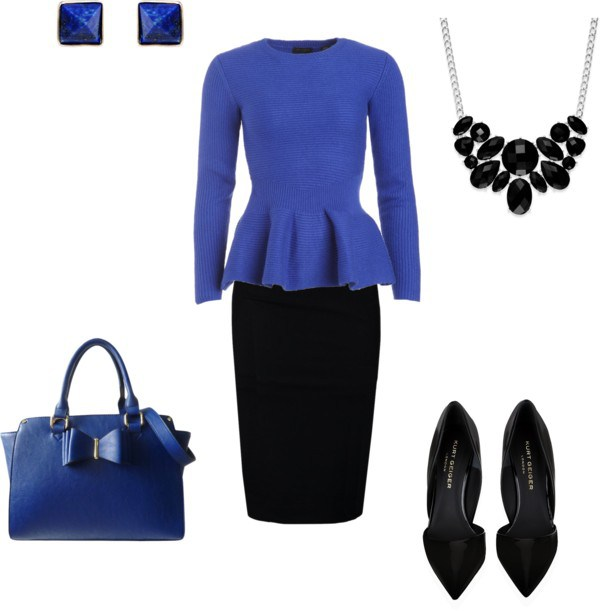 Come indossare il Classic Blue by annaturcato featuring a blue shirt