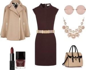 Come indossare il Marsala di annaturcato contenente pearl jewelry