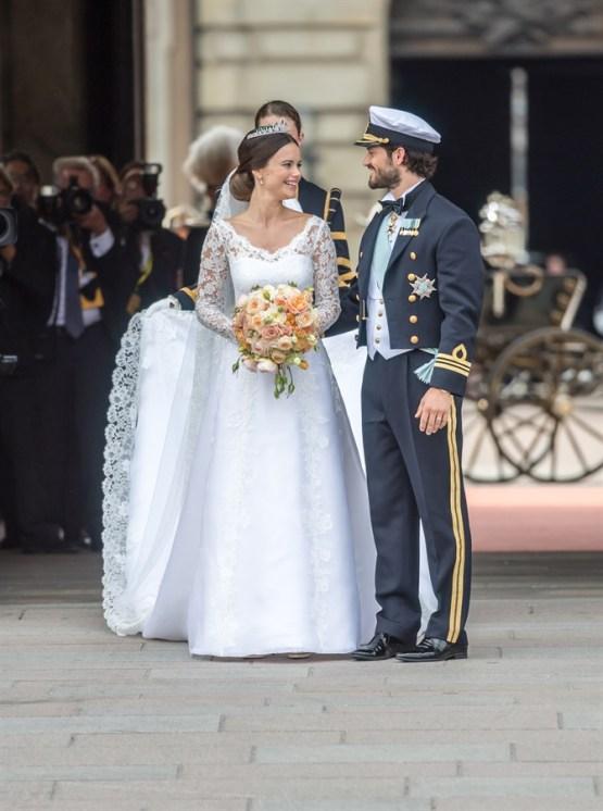 Abito sposa evento Svezia