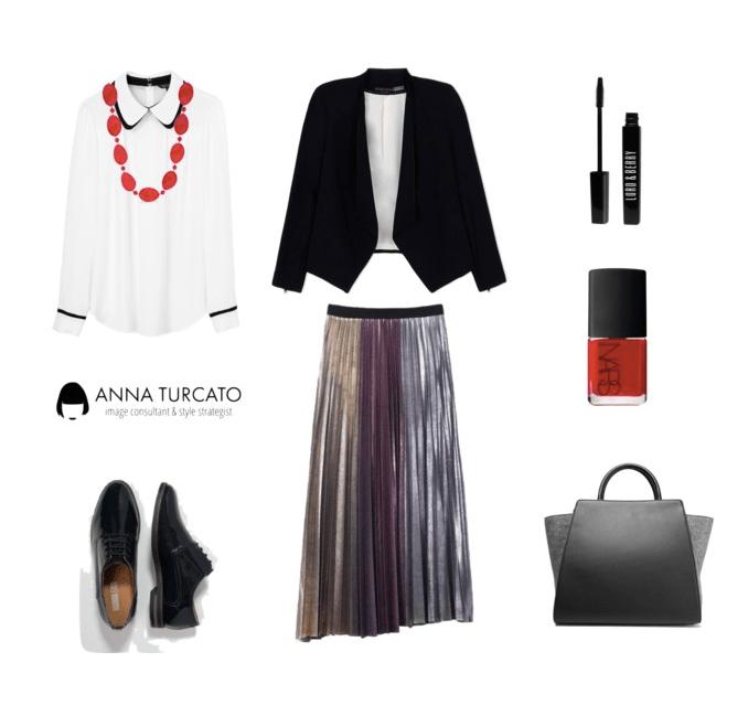 Anna-Turcato-Silver-Skirt