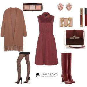 Come abbinare il Marsala by annaturcato featuring a cross body purse